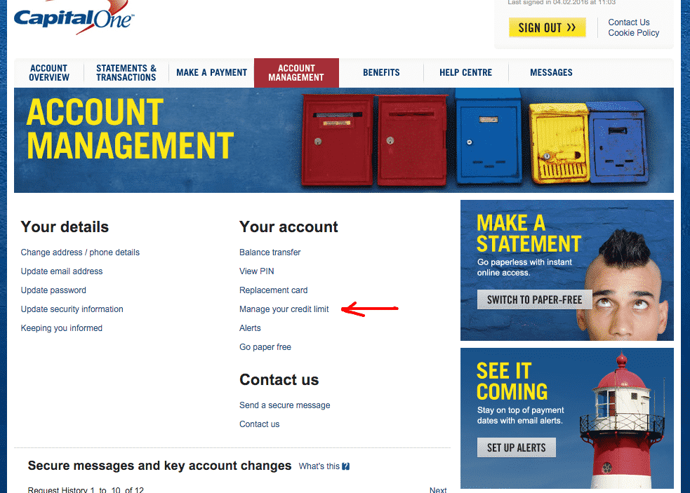 capital one credit card request increase взыскание займа без расписки