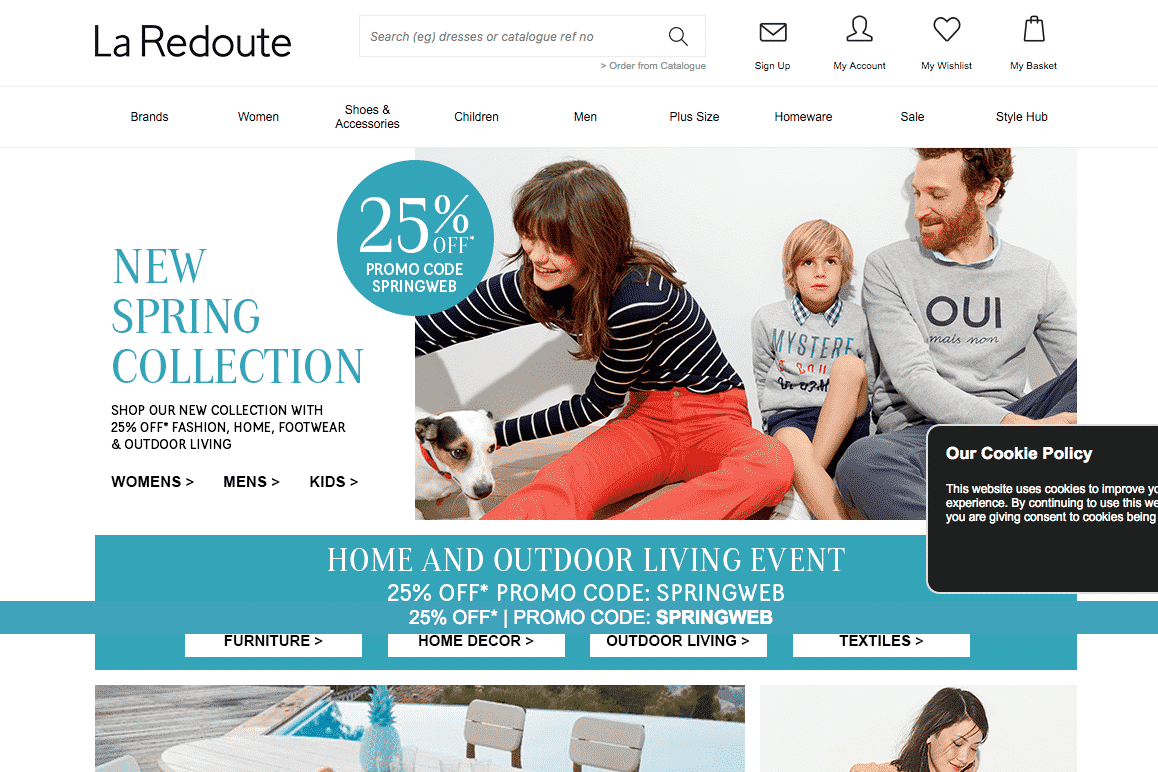 la redoute catalogue credit 4 everyone. Black Bedroom Furniture Sets. Home Design Ideas