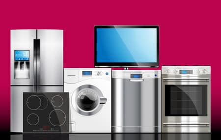 rent to own- kitchen and house appliances: microwave, washing machine, refrigerator, gas stove, dishwasher, tv.