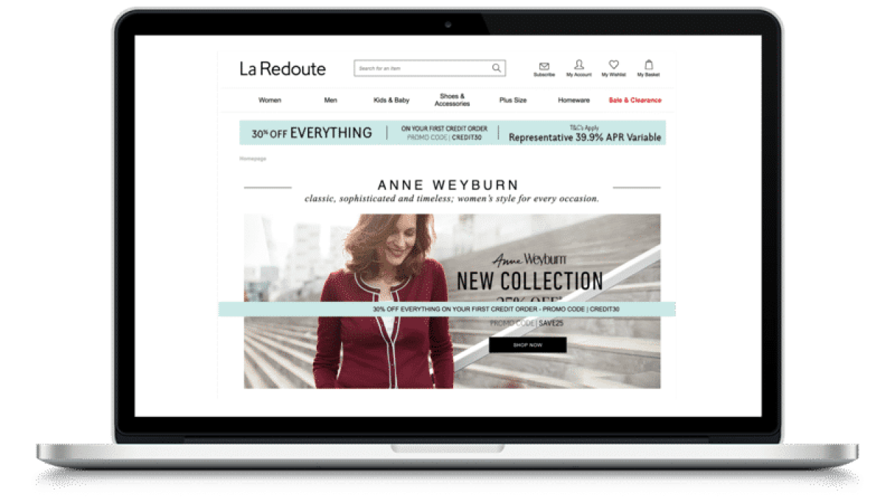 La Redoute Catalogue French Fadshion Pay Monthly Catalogue