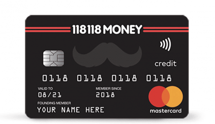 The Credit Card that will cost you at least £8 per month, 118118money.com