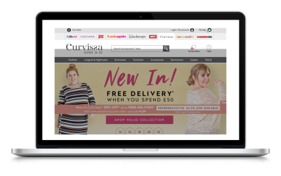Curvissa Catalogue, Fashion Catalogue, Pay Monthly