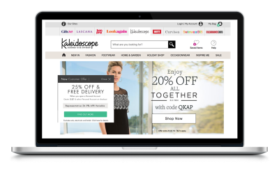 Kaleidoscope Catalogue – Fashion, Pay Monthly