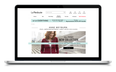 La Redoute Catalogue – French Fashion catalogue pay monthly